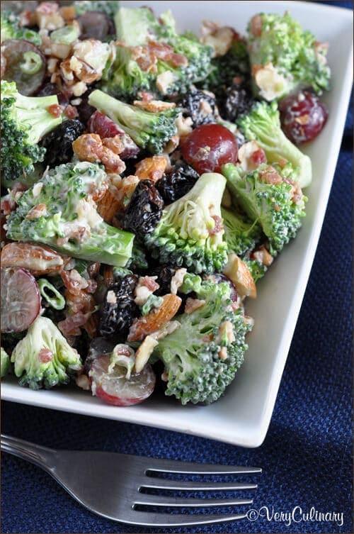 Broccoli Salad {Belly Full}