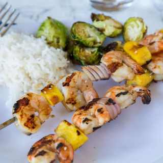 Shrimp and pineapple make a great combination on these Grilled Teriyaki Shrimp Kebobs. Such an easy recipe and great for summer grilling!
