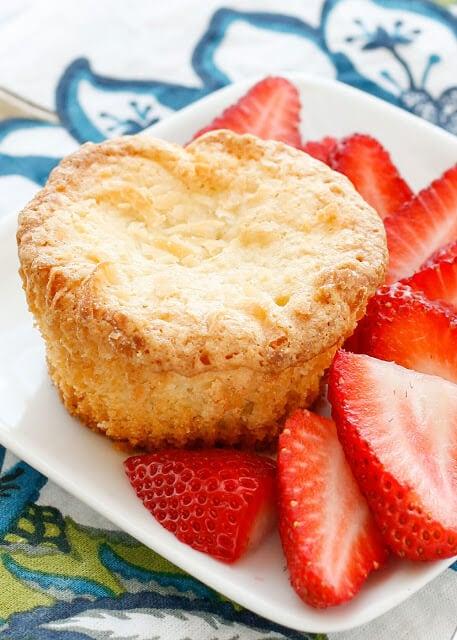 Mini Coconut Pound Cakes {Barefeet in the Kitchen}