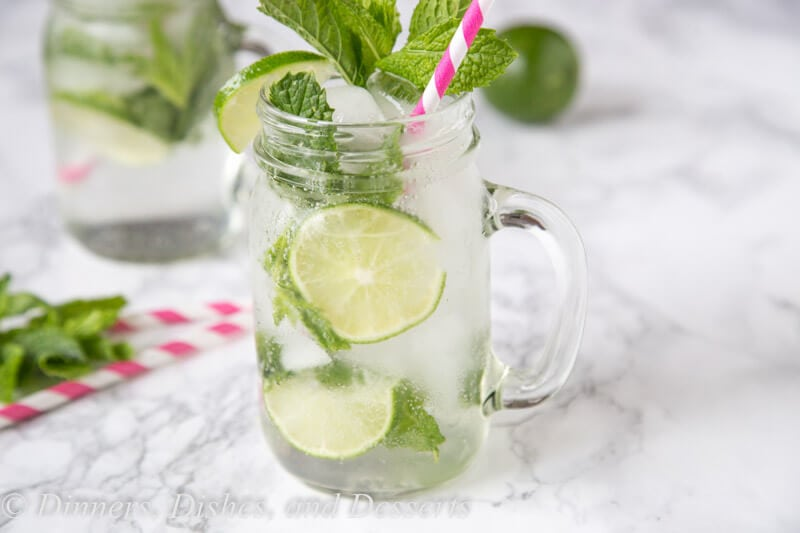 Skinny Mojitos - enjoy all the flavors of a classic mint mojito, with a little less guilt.