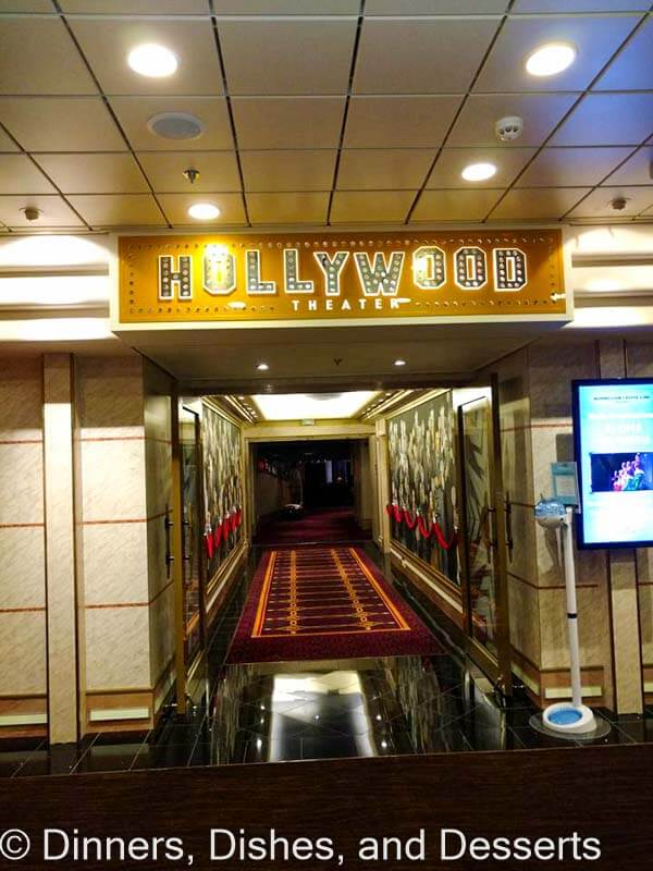 Hollywood Theater aboard Pride of America