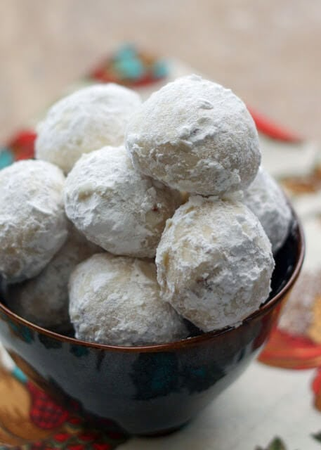 Mexican Wedding Cookies {Barefeet in the Kitchen}