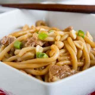 asain noodle bowl