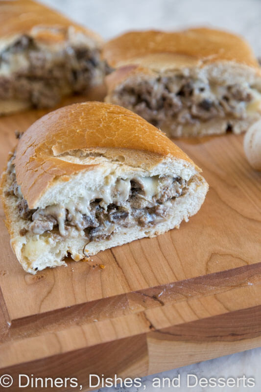 Beef Stroganoff Stuffed Bread has all the flavors of beef stroganoff in a quick and easy, stuffed French bread. It's friendly on the budget, too!