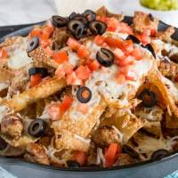 Italian Nachos with Sausage