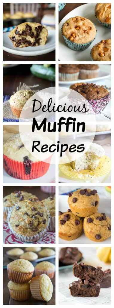 Muffins Recipes - Over 50 muffin recipes for all of your breakfast and snack cravings! Great for the freezer for easy mornings!