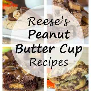 23 Reese's Peanut Butter Cup Recipes - a peanut butter and chocolate lovers dream. A round up of 23 over the top desserts with Reese's peanut but