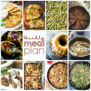 Weekly Meal Plan Week 86 – 11 great bloggers bringing you a full week of recipes including dinner, sides dishes, and desserts!