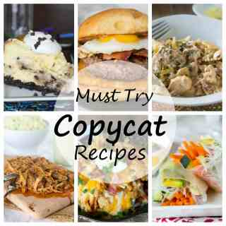 15 Copycat Recipe to Try - want to make some of your restaurant favorites at home? Here are 15 homemade versions of some famous restaurant dishes!