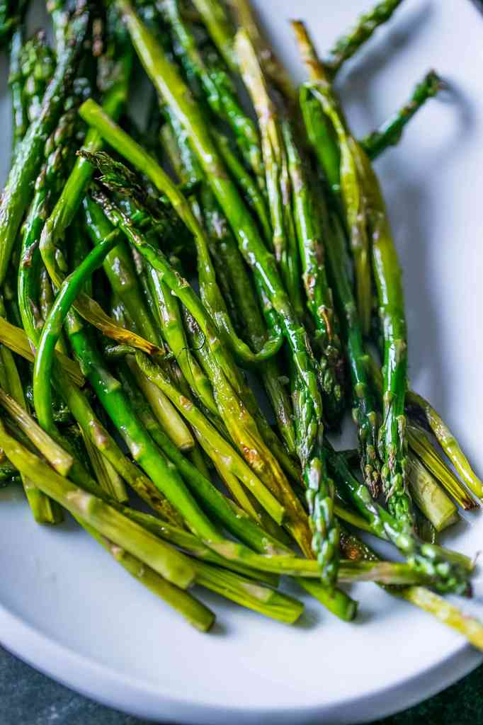 Pan Fried Asparagus {Sweet C's}