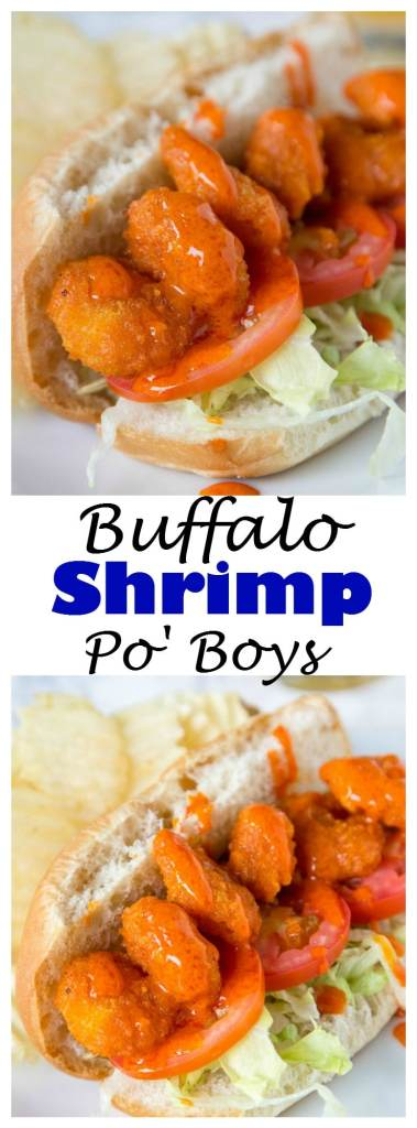 A plate of food, with Po\' boy and Blue cheese