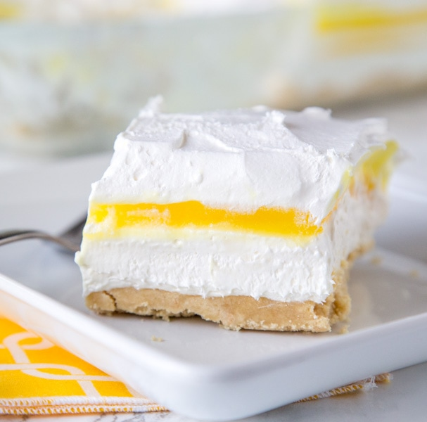 Lemon Lasagna Dessert Recipe