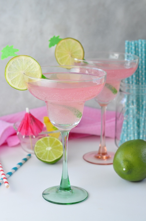 Pink Lemonade Margarita {Wishes and Dishes}