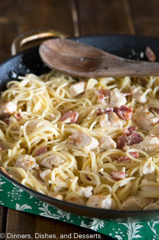 Easy Pasta Recipe - creamy and delicious without all the guilt!