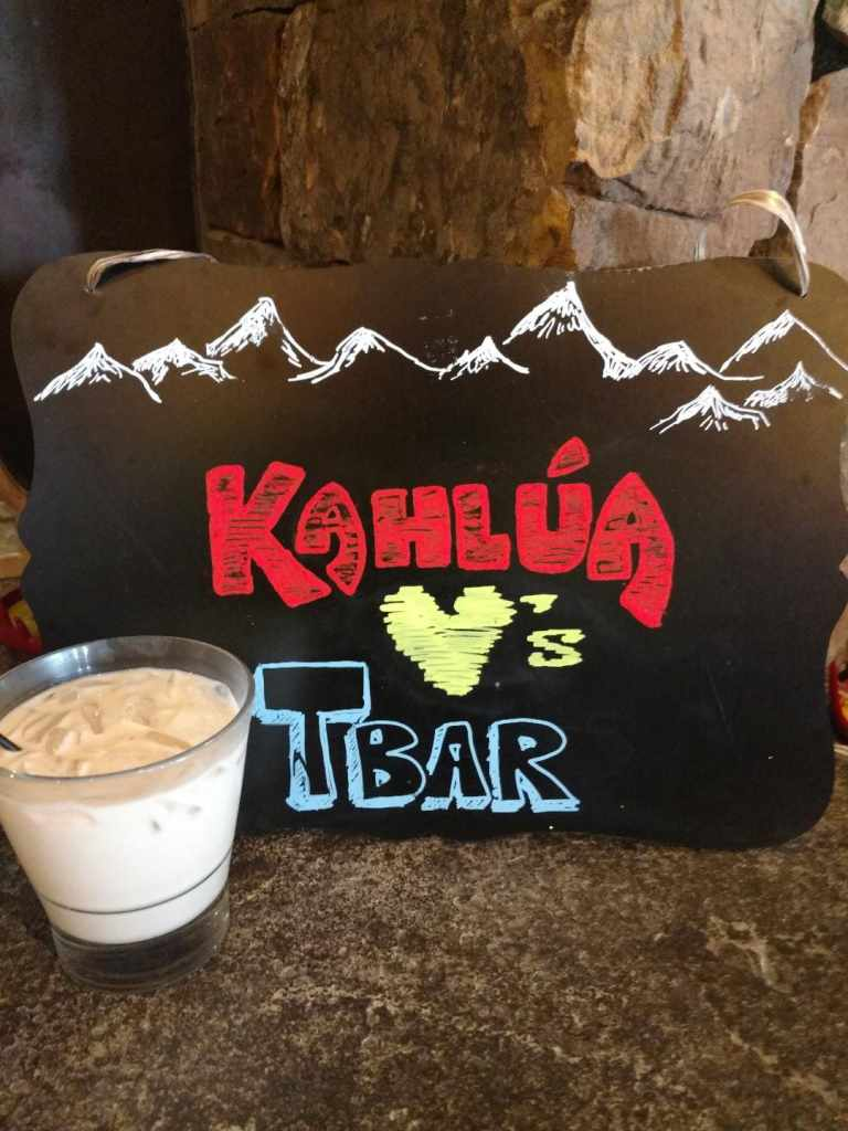 Breckenrdige Colorado - White Russians and Kuhlua