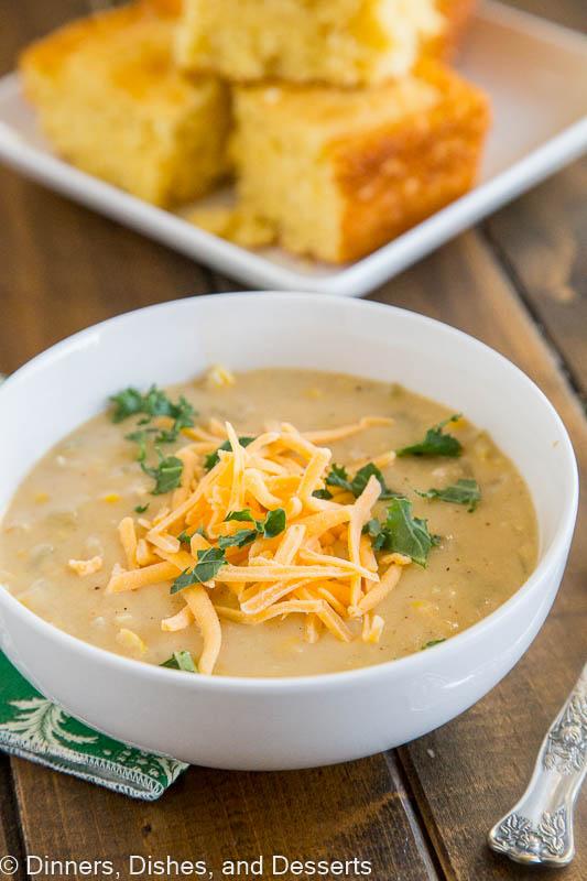 Southwestern Chicken Corn Chowder Recipe
