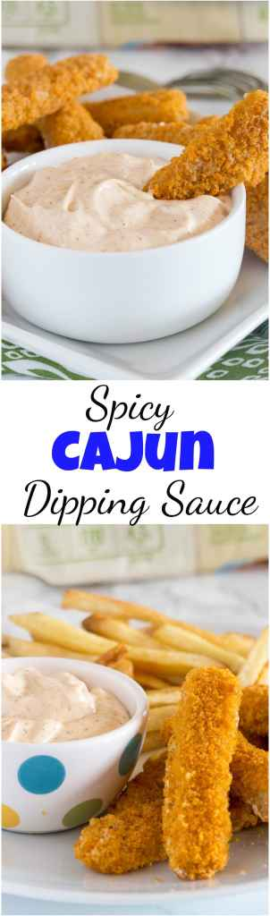 Spicy Cajun Dipping Sauce Gortons Smart & Crunchy Fish Sticks Collage