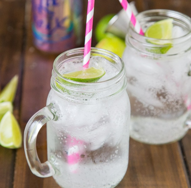 Vodka Soda Recipe - a classic easy to make cocktail that uses La Croix, vodka and a twist of lime. Crisp, refreshing and delicious.