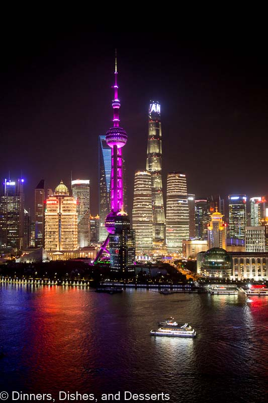 View of the Pudong Skyline from Hyatt on the Bund