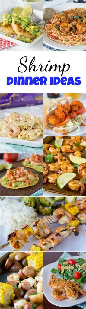 Shrimp Dinner Ideas - Shrimp is a great go to for dinner, it cooks super fast and is good for you too!  These easy shrimp recipes will be become your go to dinner ideas!