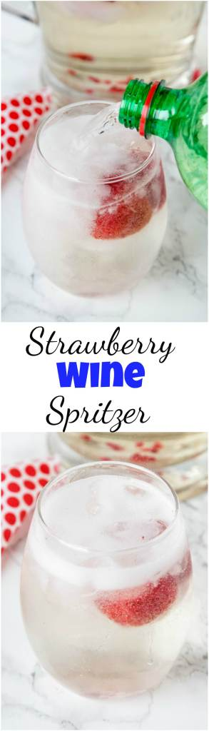 strawberry wine spritzer recipe
