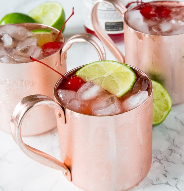 Cherry Limeade Moscow Mule