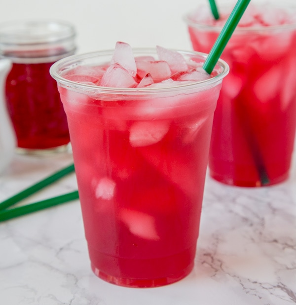 Copycat Starbucks Passion Tea Lemonade Dinners Dishes