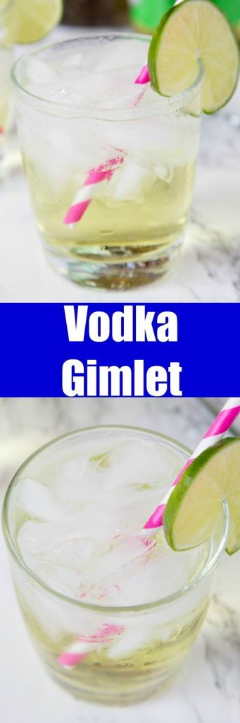 This vodka gimlet recipe is super simple to make and such a refreshing and classic drink.