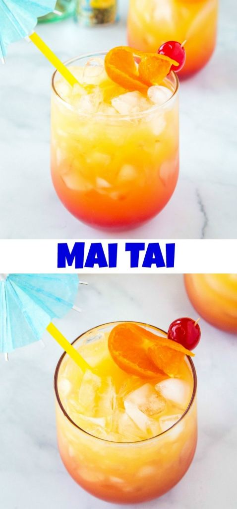 Mai Tai collage