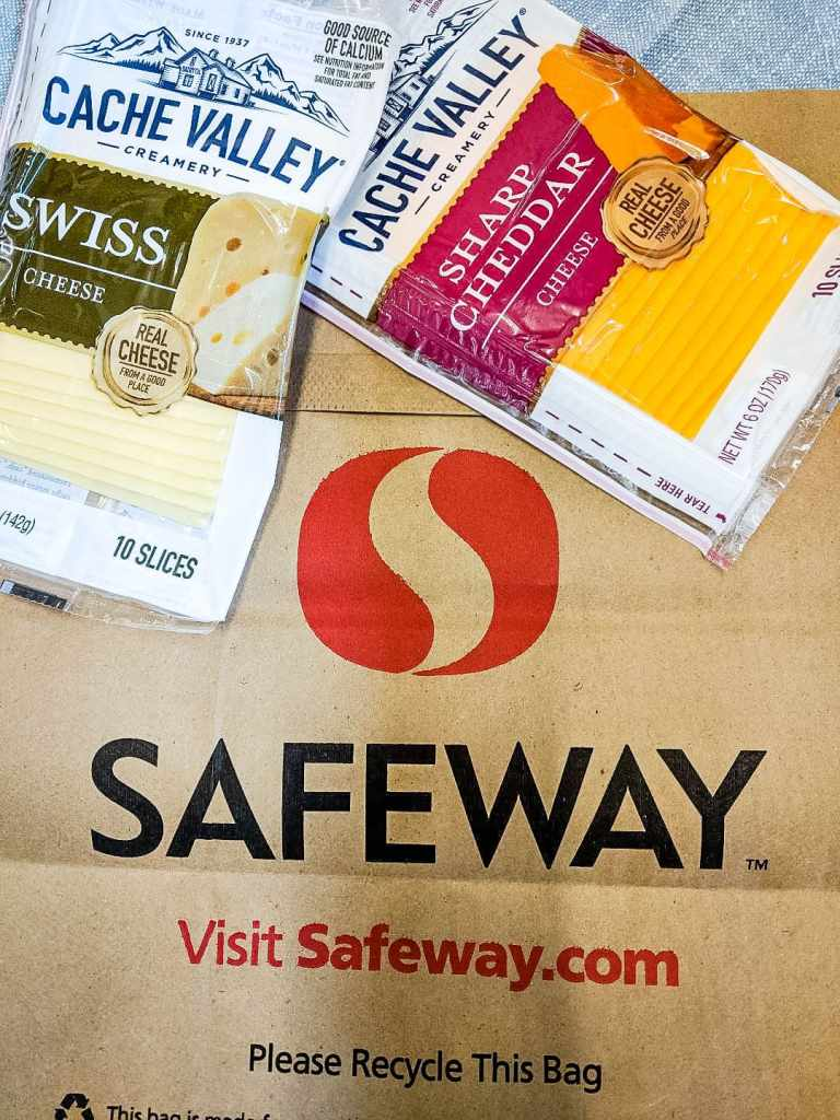 Pick up Cache Valley Cheese at Safeway