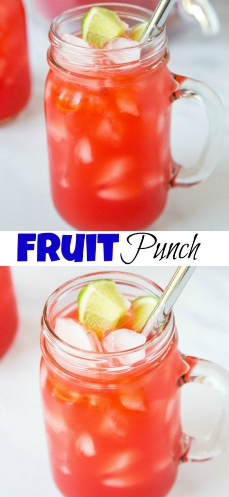 Hawaiian Punch Recipe - A refreshing and delicious fruit punch that is great for any get togethers.  The kids and adults will love it!