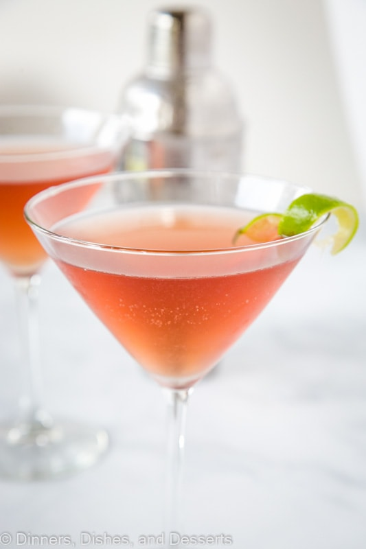 Cosmo cocktail is a classic drink. Such an easy recipe to make too.