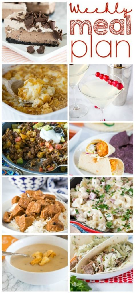 A bunch of different types of food on a plate