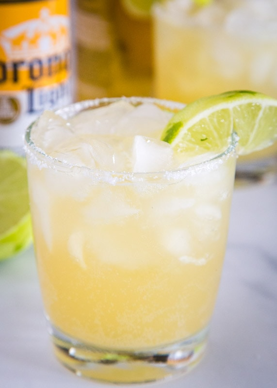 This is a light and refreshing Beer Margarita you can make at home in minutes