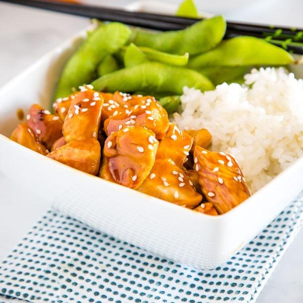 Honey Teriyaki Chicken Bowls