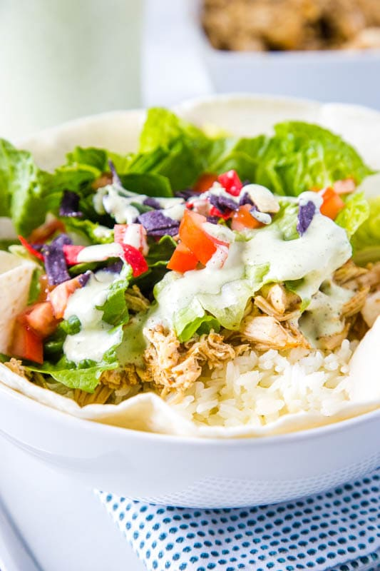 Cafe Rio style chicken salad