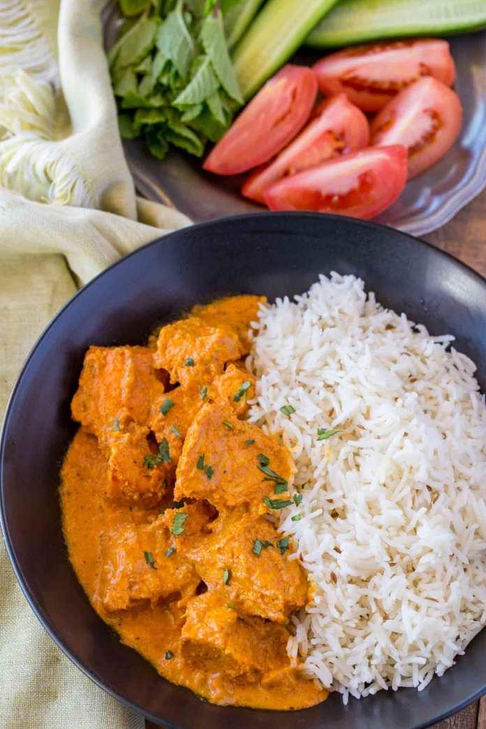 Easy Chicken Tikka Masala Dinner Then Dessert