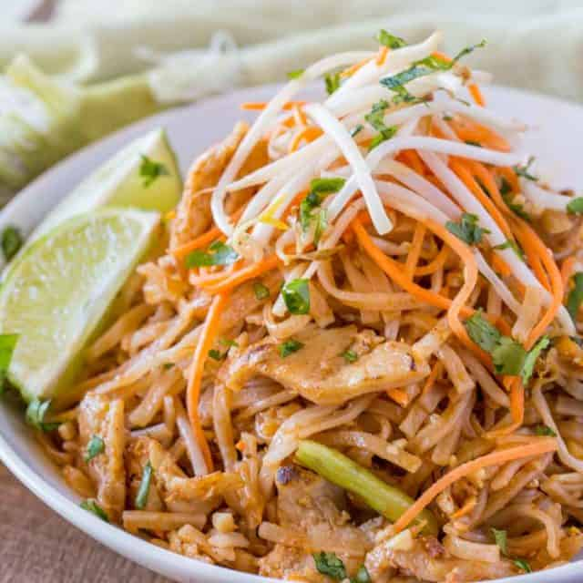 Pad Thai Recipe with Chicken