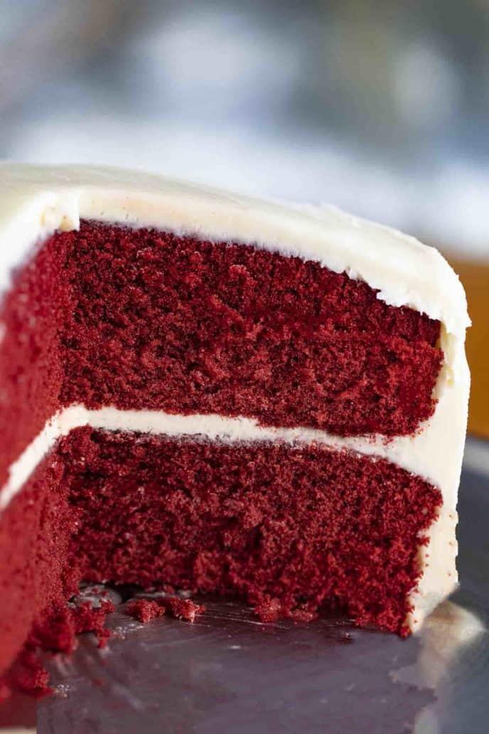 Red Velvet Cake Dinner Then Dessert