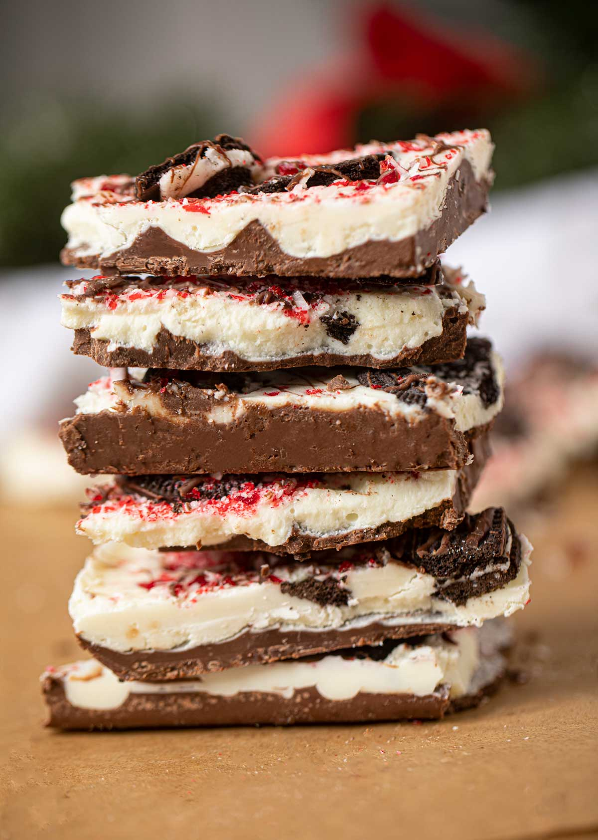 Peppermint Oreo Bark Candy Recipe