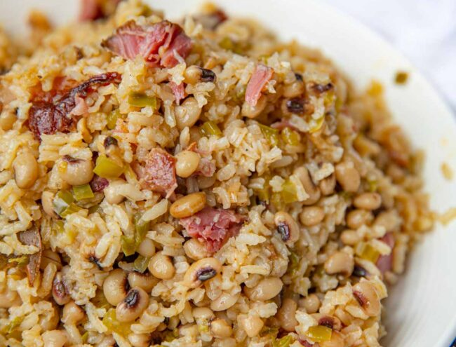 Hoppin' John with Black Eyed Peas and Rice