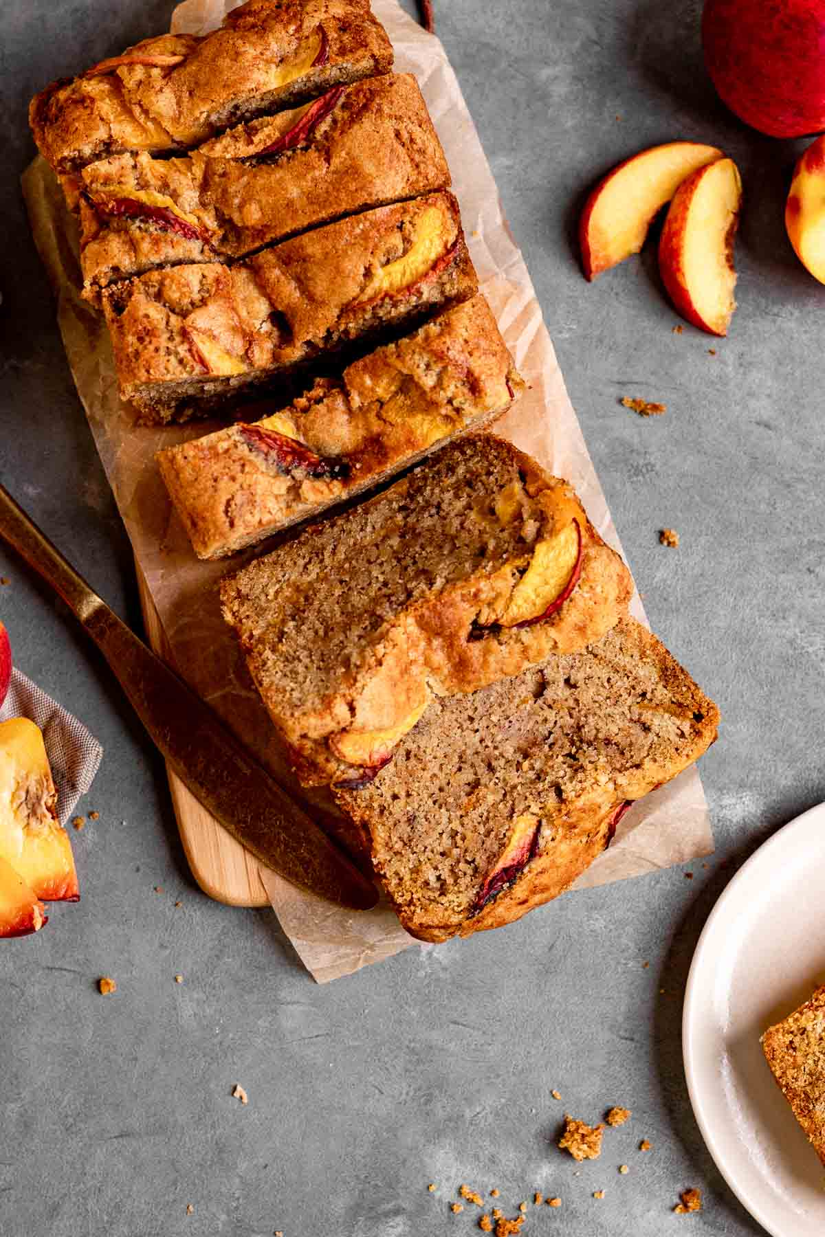 12. Cinnamon Peach Bread