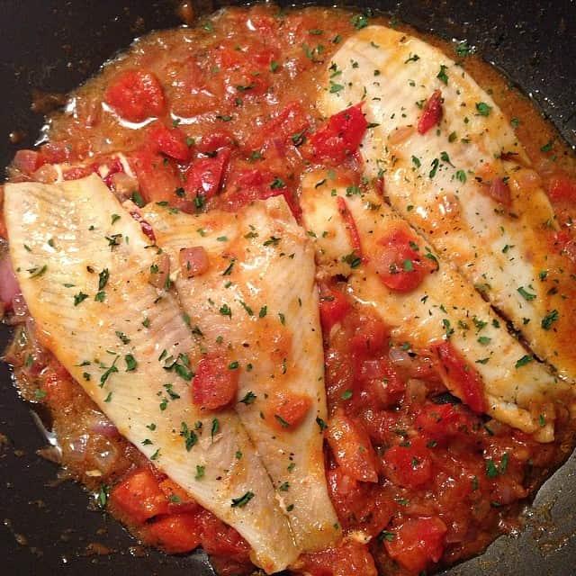 Skillet Cajun Spiced Flounder