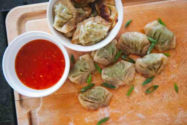 Shrimp and Vegetable Dumplings