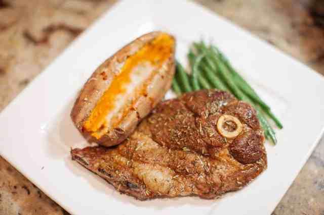 Cajun Lamb Steak