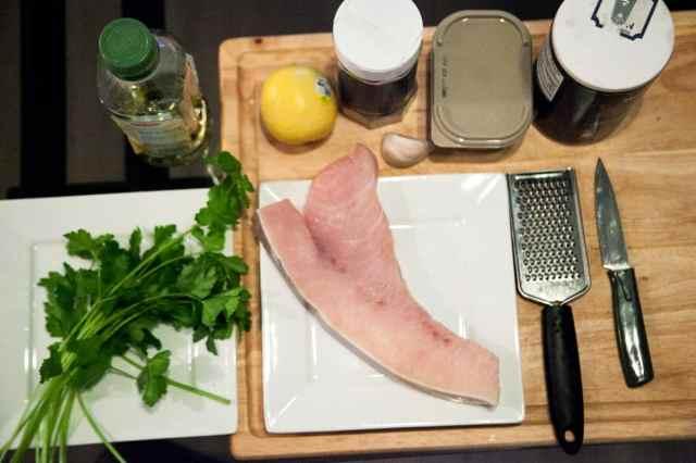 Pan Roasted Swordfish Steak