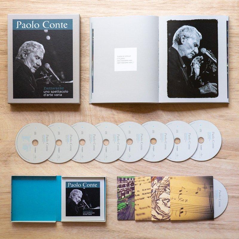Paolo Conte - Zazzarazzaz - Uno Spettacolo di Arte Varia - Special box