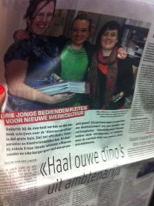Interview in Het Laatste Nieuws 31/01/2014