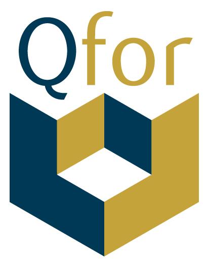 Dit is het logo van QFor