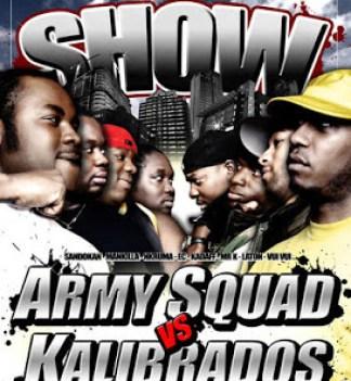 Army Squad vs Kalibrados
